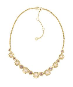Marchesa | Pearl Foldover Necklace