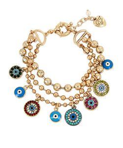 Betsey Johnson | Lucky Charms Laye Evil Eye Charm Bracelet