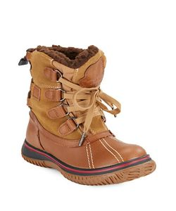 Pajar | Iceland Waterproof Sherpa-Lined Leather Ankle Boots