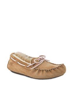 UGG | Dakota Suede Shearling-Lined Slippers