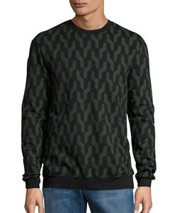 Markus Lupfer | Geometric Knit Pullover