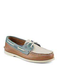 Sperry | Authentic Original Leather 2-Eye Sarape Boat Shoes