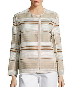 Lafayette 148 New York | Charlane Striped Jacquard Jacket
