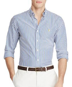 Polo Ralph Lauren | Slim-Fit Cotton Poplin Shirt