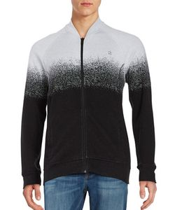 Calvin Klein Jeans | Zip-Front Jacquard Sweater