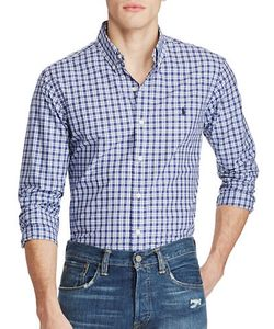 Polo Ralph Lauren | Slim-Fit Plaid Poplin Shirt