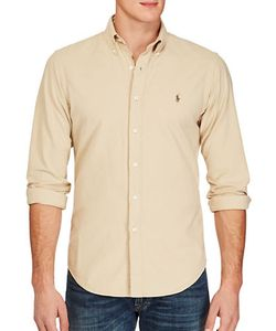 Polo Ralph Lauren | Slim Garment-Dyed Cotton Shirt