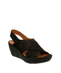 Clarks | Clarene Award Slingback Platform Wedge Sandals