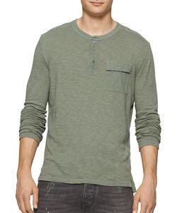 Calvin Klein Jeans | Surplus Long-Sleeve Henley Shirt