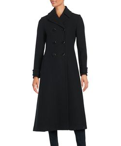 Kate Spade New York | Double-Breasted Wool-Blend Coat