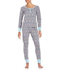 Juicy Couture | Vintage Thermal Pajama Set