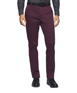 Calvin Klein | Stretch-Cotton Tape Pants