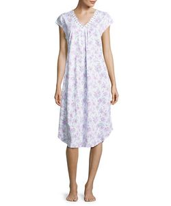 Karen Neuburger   Embroide Nightgown