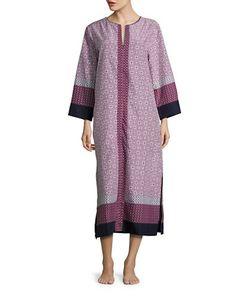 Oscar de la Renta   Printed Nightgown