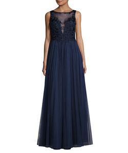 BASIX | Embelllished Bodice Tulle Gown
