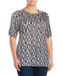 Michael Michael Kors | Plus Printed Knit Tee