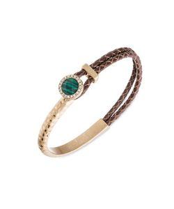 LONNA & LILLY | Semi-Precious Malachite Braided Bracelet