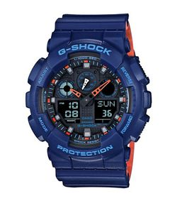 G-SHOCK | Shock Resistant Resin Ana-Digi Strap Watch