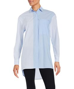 Dkny Pure | Striped Button-Front Shirt