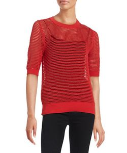 DKNY | Mesh Cotton Pullover