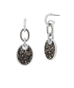 Kenneth Cole New York | Tone Pave Drop Earrings