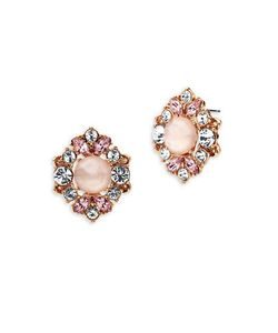 Marchesa | Cluster Button Stud Earrings