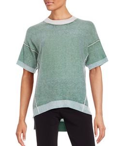 Dkny Pure | Crewneck Short Sleeve Cashmere Sweater