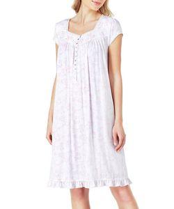 Eileen West   Lace Modal Waltz Nightgown