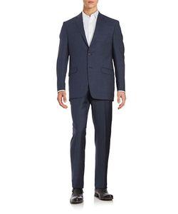 Lauren Ralph Lauren   Two-Piece Slim Fit Wool Suit Set