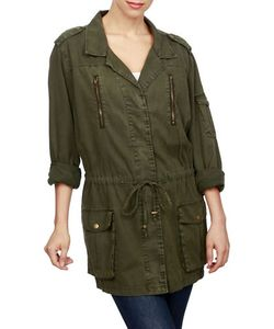Lucky Brand | Cotton Military Jacket