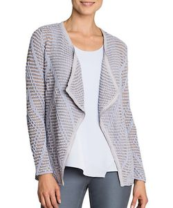 NIC+ZOE | Knitted Cotton-Blend Cardigan