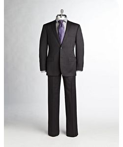 Calvin Klein   Modern-Fit Single-Breasted Wool Suit