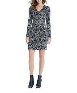 Karen Kane | Flare Sleeve Sheath Dress
