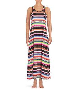 Lauren Ralph Lauren   Striped Cotton Nightgown