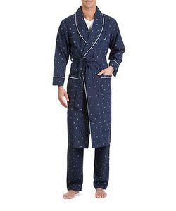 Nautica | J-Class Woven Shawl Collar Robe