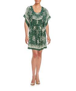 Anna Sui | Nautical Silk-Blend Dolman Dress