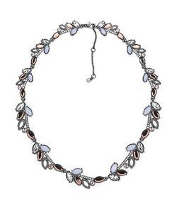 Jenny Packham | Crystal Rose Opal Collar Necklace