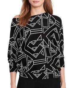 Lauren Ralph Lauren | Relaxed-Fit Printed Sweater