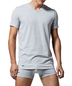 Lacoste   Two-Pack Slim Fit V-Neck Tee