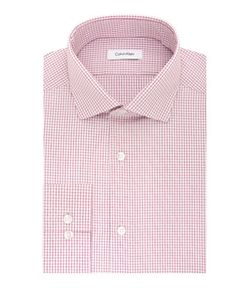 Calvin Klein | Cotton Checked Dress Shirt