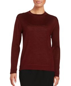 Dkny Pure | Wool-Blend Crewneck Sweater