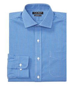 Lauren Ralph Lauren | Slim-Fit Tattersall Stretch Estate Dress Shirt
