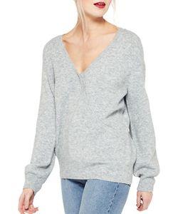 Miss Selfridge   Faux Wrap Sweater