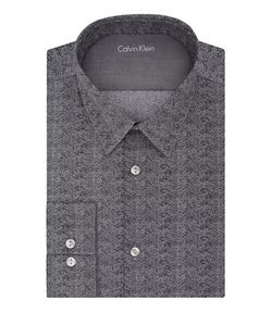 Calvin Klein | Slim Fit Chevron Dress Shirt