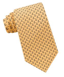 Lord & Taylor The Mens Shop | Anchor Printed Silk Tie