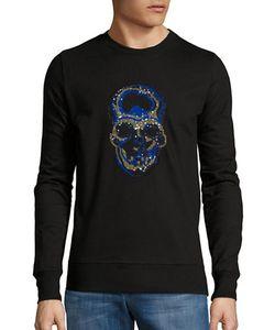 Markus Lupfer | Sequined Skull Sweatshirt