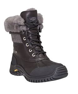UGG | Adirondack Ii Lace-Up Shearling-Lined Leather Boots