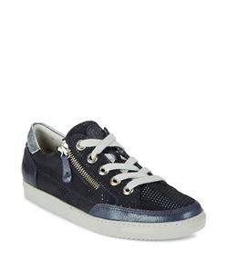 Paul Green | Luca Sport Zip Accented Lace Up Sneakers