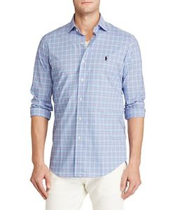 Polo Ralph Lauren | Plaid Poplin Estate Standard-Fit Shirt