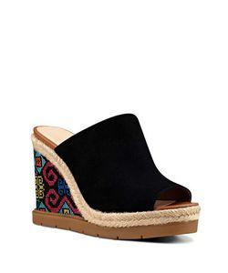 Nine West | Vip Suede Wedge Sandals